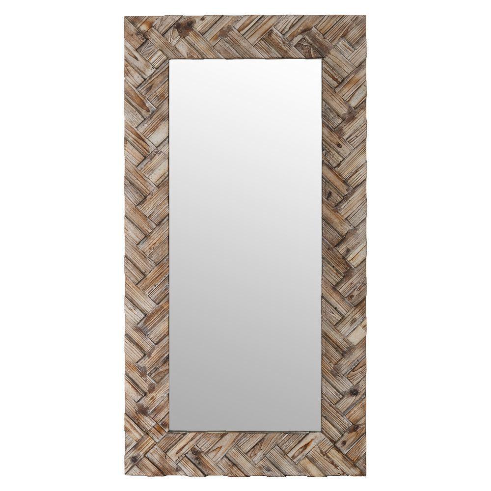 Specchio con cornice decorata mobili etnici provenzali shabbychic - Specchio con cornice ...