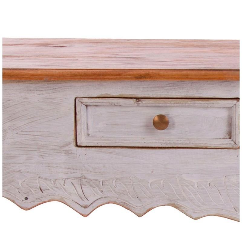 Consolle legno bianco decapato Mobili provenzali shabby chic