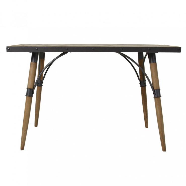 Tavolo ferro e legno tavoli industrial vintage shabby chic for Tavolo ferro e legno