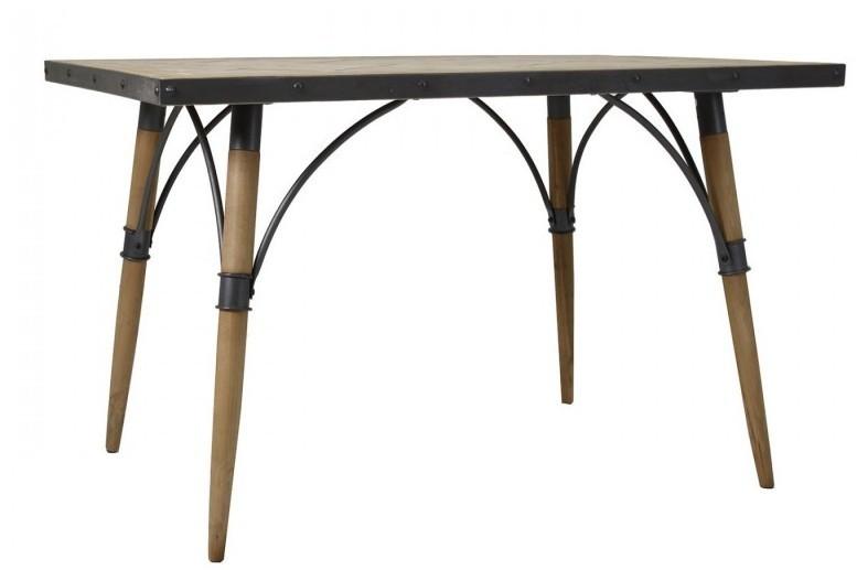 Tavolo ferro e legno tavoli industrial vintage shabby chic - Tavolo legno e ferro ...