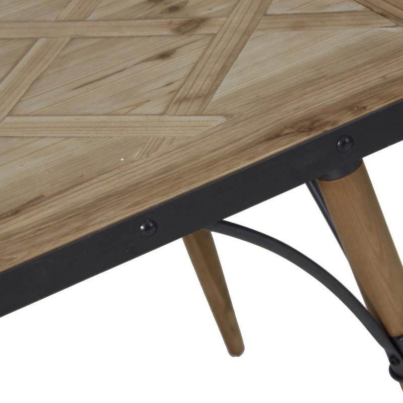 Tavolo ferro e legno tavoli industrial vintage shabby chic - Tavolo legno ferro ...