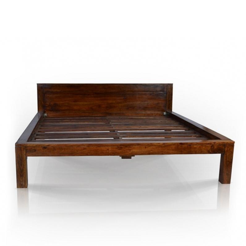 Letto stile etnico legno massello - Mobili Etnici vendita online
