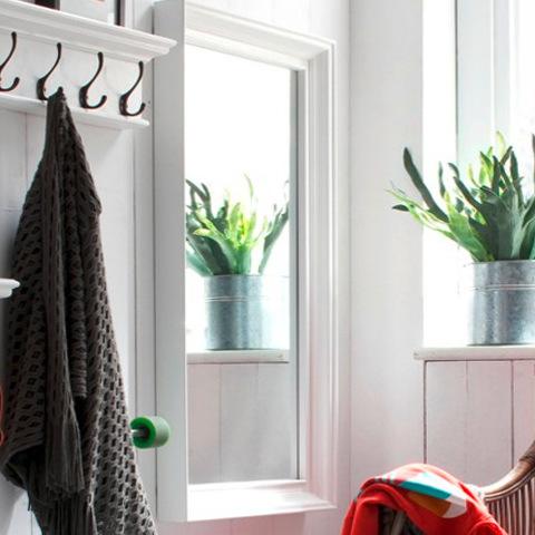 Specchi etnici provenzali shabby offerte online su ethnic chic for Specchio da parete bianco