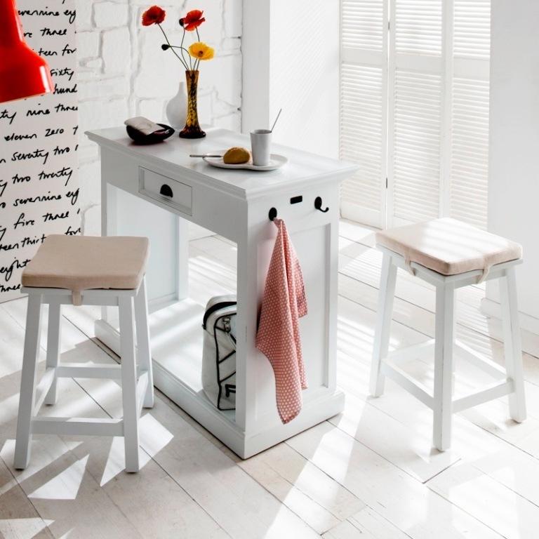 Set consolle + sgabelli provenzale - Mobili Provenzali Shabby