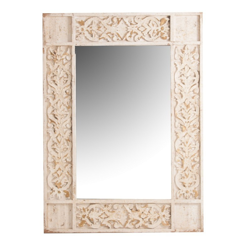 Specchio da parete decapato