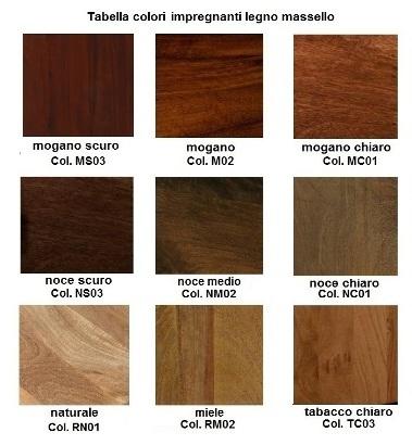 Tabella colori ethnic chic mobili etnici provenzali - Colori mobili legno ...