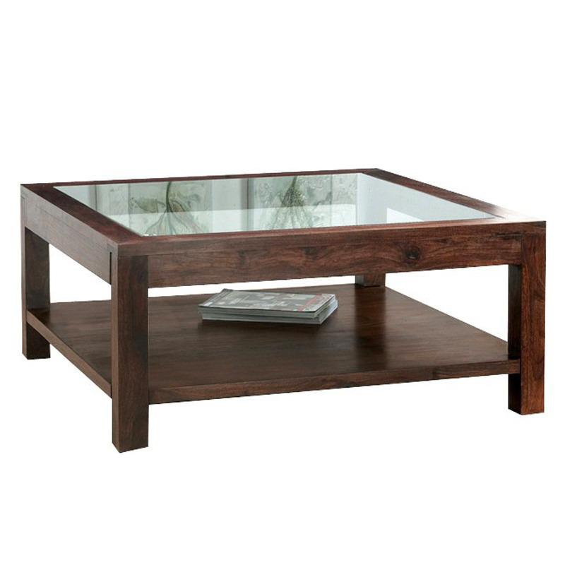 Tavolo basso con cristallo mobili industrial vintage for Tavolini cristallo