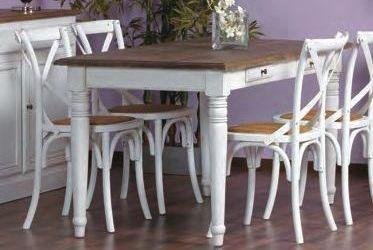 Tavoli Shabby Chic On Line : Tavolo legno bianco shabby tavoli industrial vintage shabby chic