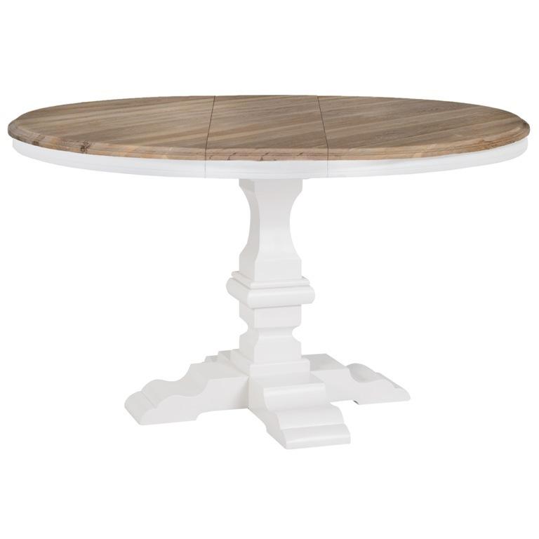 Tavolo tondo allungabile shabby - Mobili provenzali shabby chic