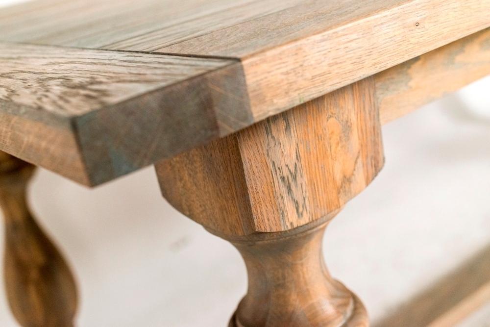 Tavolo allungabile legno quercia - Tavoli provenzali shabby chic
