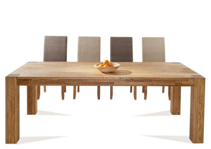 Tavolo etnico legno naturale mobili etnici ethnic chic - Tavolo legno naturale ...