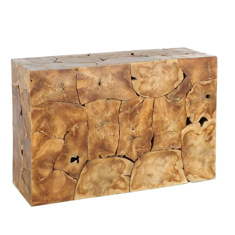 Consolle etnica legno teak mobili provenzali industrial for Consolle legno
