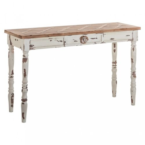 Consolle shabby chic decapata