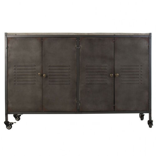 Buffet industrial chic