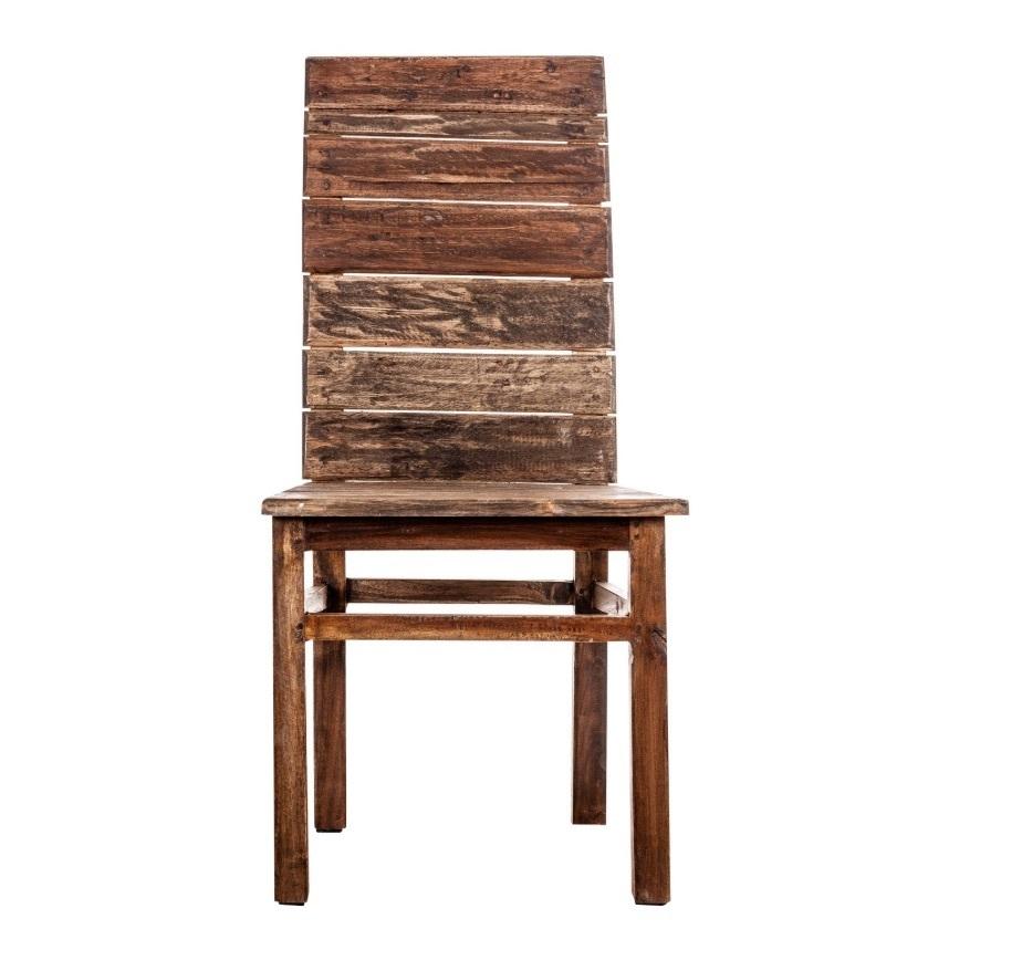Sedie In Legno Riciclato.Sedia Vintage In Legno Riciclato Sedie Etniche Online