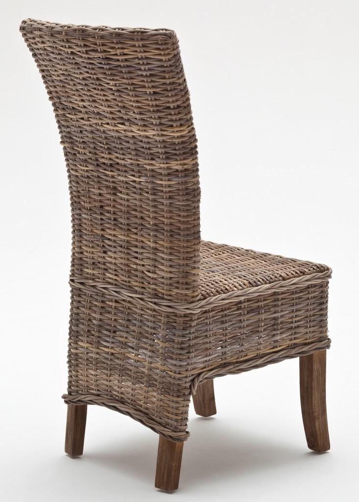 Sedia in rattan naturale kubu mobili etnici provenzali - Sedia in rattan ...