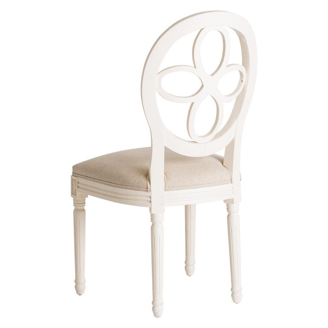 Sedia provenzale bianca ethnic chic mobili shabby chic for Sedie scontate