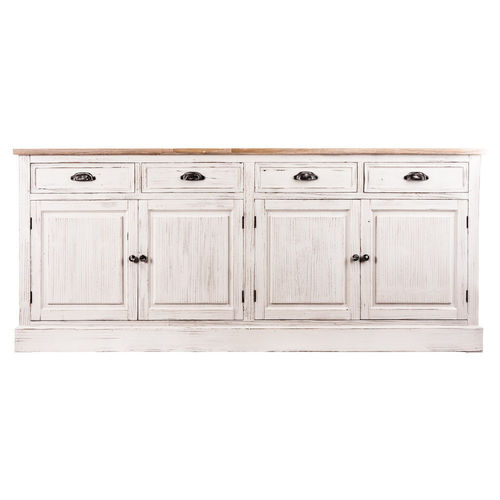 Buffet provenzale bianca shabby