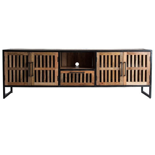 Porta tv oriental chic naturale