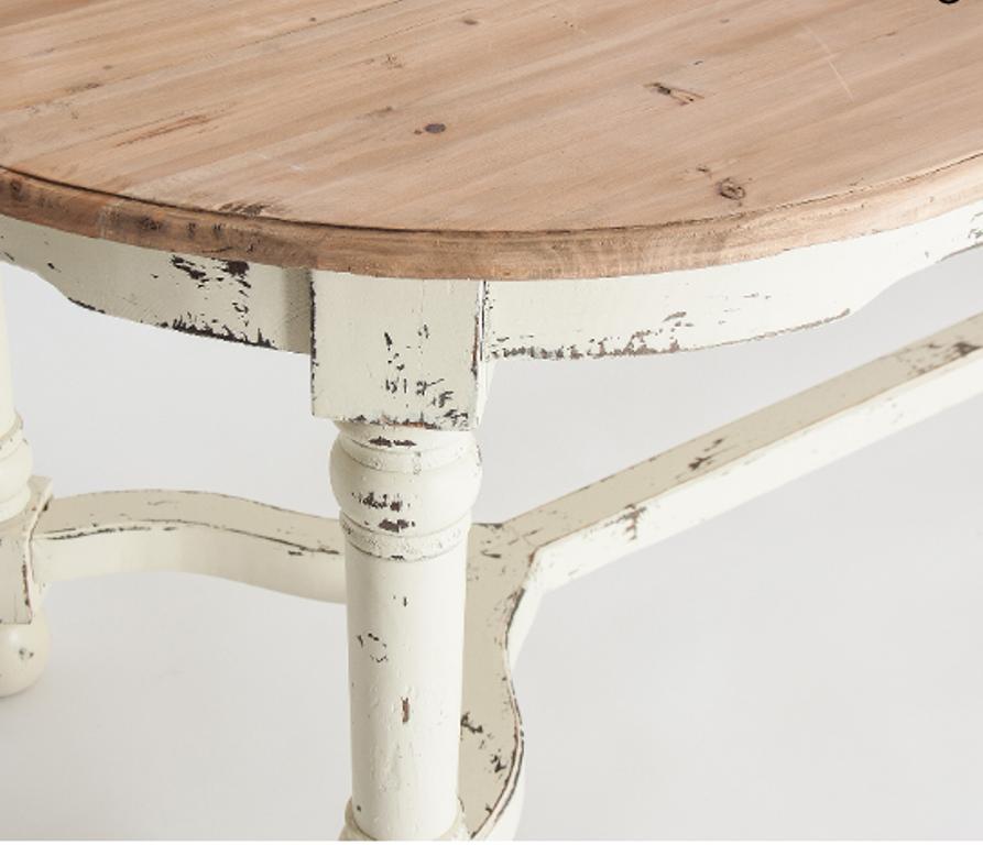 Tavolo da pranzo legno decapato Tavoli vintage shabby chic
